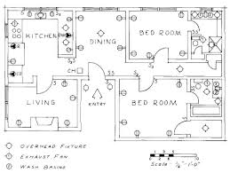 floor plan symbols electrical drawing for architectural plans house floor plan
