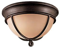 Flushmount Lighting Minka Lavery 976 1 138 Aspen Ii Round Glass Flush Mount Lighting