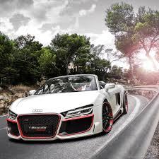 Audi R8 Front - download audi r8 v10 spyder regula tuning front wallpaper for ipad