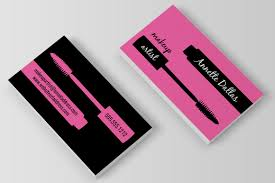 freelance makeup artist business card makeup artist business card by charming ink thehungryjpeg