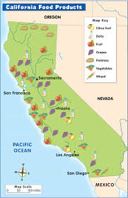 california map project economic or resource map geography project olof