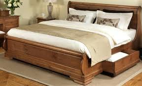 solid wood bed frame u2013 selv me