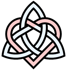 triquetra celtic knot tattoo design