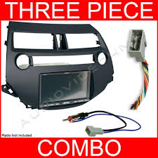 2008 honda accord dash kit 2008 2011 honda accord single din radio install dash kit w