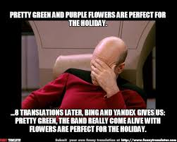 Holiday Meme - pretty green the band really come alive with flowers are perfect