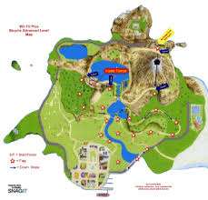 map of island kchichester wii cycling maps