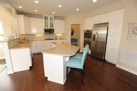 decor kitchen design by ryan homes venice with stools and white