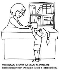 librarian coloring crayola