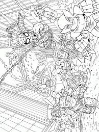 download superhero squad printable coloring pages superhero