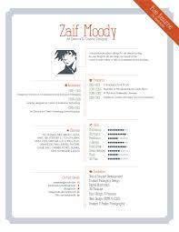 free graphic design resume template psd elegant free resume