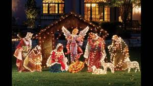 Outdoor Plastic Light Up Nativity Scene by Christmas Ornaments Christmas Yard Ornaments Christmas Lawn