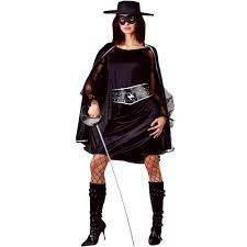 Bandit Halloween Costume Bandit Beauty Costume Ladies Zorro Fancy Dress Costumes