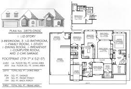 3 bedrooms 1 story 2701 3200 square feet