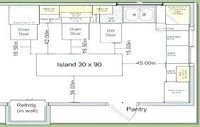 standard size kitchen island standard dishwasher size kitchen island size for 5 stools average