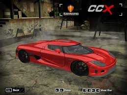 koenigsegg car from need for speed need for speed most wanted koenigsegg ccx nfscars