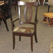 saratoga dining table and miami chair set amish oak