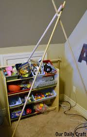 make a kid sized reading tent no tools required our daily craft