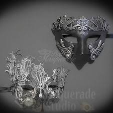 masquerade masks for couples masquerade mask set ebay