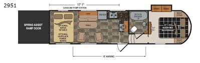Toy Hauler Floor Plans Triton Toy Hauler Fifth Wheel Rv Sales 4 Floorplans