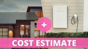 Solar Power System Cost Estimate by Tesla Solar Roof Cost Estimate With Powerwall 2 And Electricity