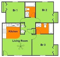 floor plan 3 bedroom house simple 3 bedroom house plans download building plans in 3 bedroom