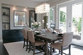 How High To Hang Chandelier Most Popular Dining Room Chandelier With Large Rugs Table