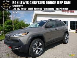 jeep cherokee lights 2016 light brownstone pearl jeep cherokee trailhawk 4x4 113526067