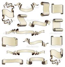 scroll drawing clipartxtras