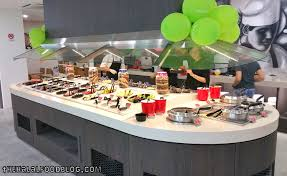 Buffet Salad Bar seasonal salad bar u2013 the halal food blog