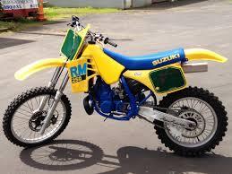 suzuki motocross bikes for sale 1988 suzuki rm 250j resto project old moto motocross
