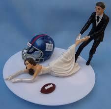 wedding cake ny wedding cake topper new york giants ny g football themed w garter