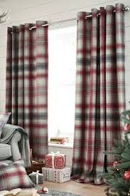 Country Kitchen Curtains Cheap by Black And Red Curtains Plaid Vintage Cotton Fabric Black Red