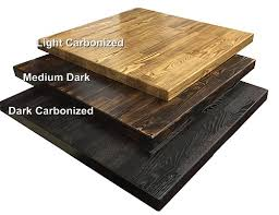 Hardwood Table Tops by Restaurant Wood Table Tops Wholesale