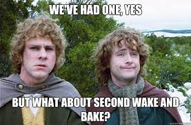Wake N Bake Meme - we ve had one yes but what about second wake and bake second