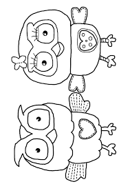 milk eyes giggle and hoot free colouring coloring page download