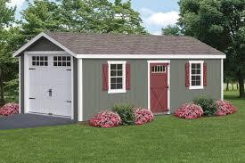 12x24 7 u0027 a frame duratemp one car garage upgrades carriage doors
