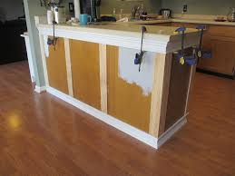 kitchen cabinet trim ideas kitchen chronicles vol 2 adding trim to the cabinets cabinet