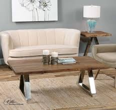 Super Comfortable Couch by Furniture Chic Rectangle Varnished Reclaimed Wood Coffee Table