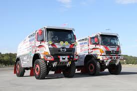 hino motors to enter two hino500 series trucks in dakar rally 2017