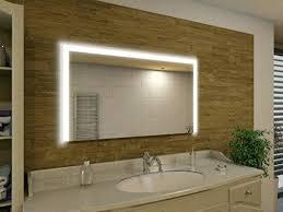 led licht fã r badezimmer beleuchtete spiegel bad spiegel mit led beleuchtung etwas gedimmt