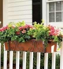39 best planters over railings images on pinterest railing