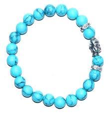 turquoise bracelet images Buddha turquoise bracelet metaphysical jewelry jpg