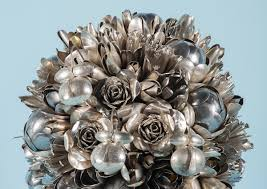 bouquets made of spare utensils by ann carrington inspiration