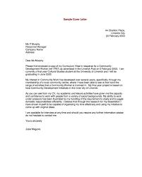 sample of resume letter expin memberpro co