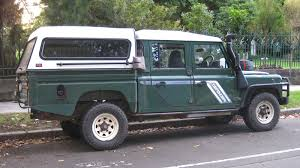 old land rover aussie old parked cars 1994 land rover defender tdi lwb double