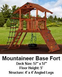 Backyard Adventure Playset by Backyard Adventures Explorer Series Mountaineer