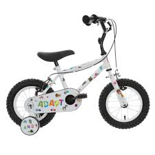 indi adapt kids bike bicycle with stickers 12