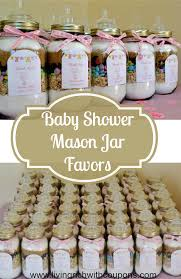 baby shower guest gifts baby shower favors using jars diabetesmang info