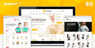 top leading opencart templates for corporate websites