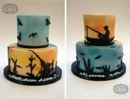 hunting and fishing cake ideas 1384